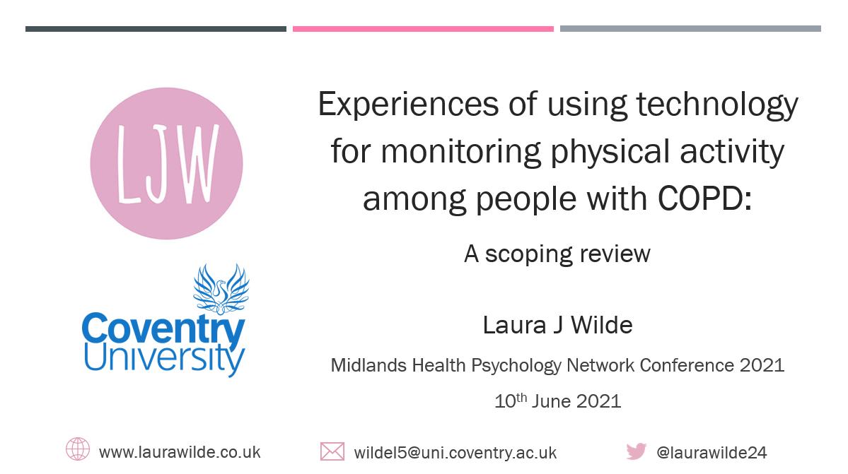 Midlands Health Psychology Network Conference presentation title